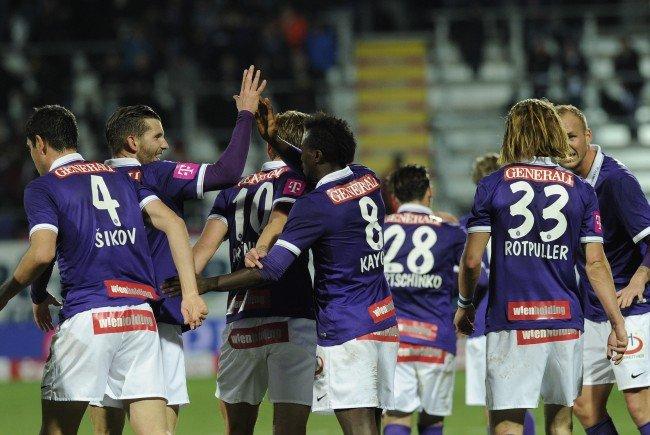 Das ÖFB-Cup-Viertelfinale zwischen Austria Wien und LASK Linz.