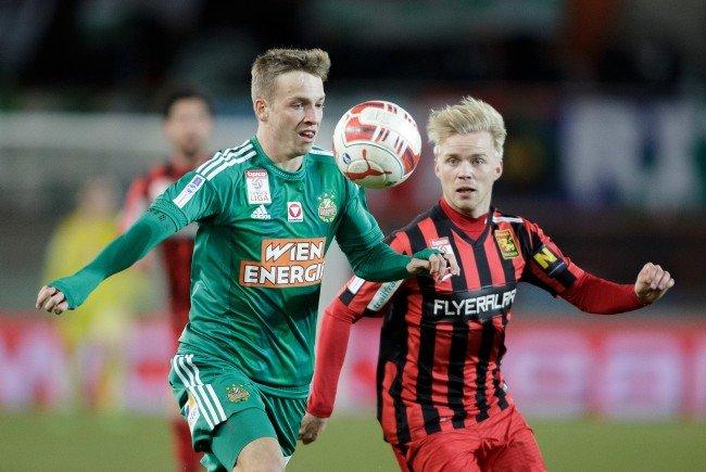 Rapid musste sich im Cup-Viertelfinale gegen Admira geschlagen geben.