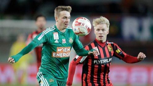 Admira schießt Tor im Finish - Rapid im Cup-Viertelfinale out