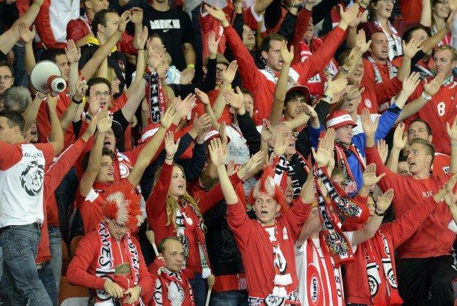 Die österreichischen Fans fiebern der EM entgegen.