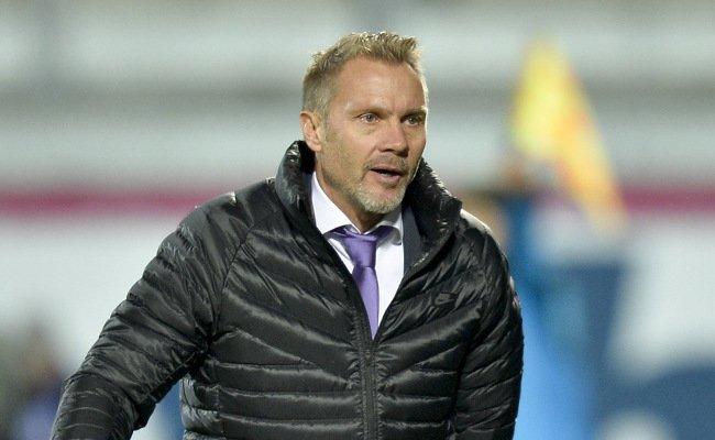 Austria-Trainer Fink haderte im Derby mit der violetten Chancenverwertung.