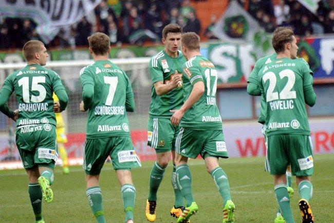 Das sind die Meinungen nach dem Spiel SK Rapid Wien gegen SV Grödig.