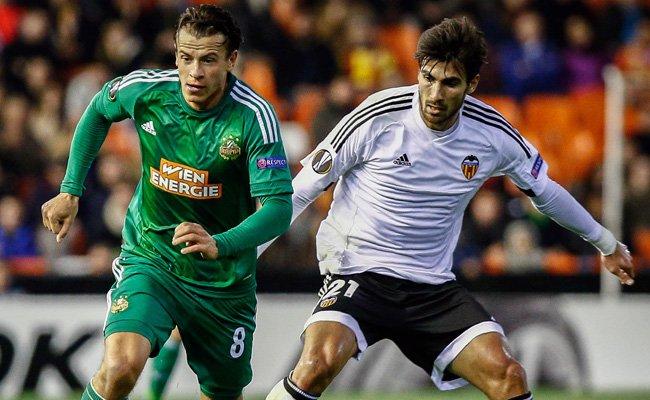 Rapid muss noch einmal gegen Valencia antreten.