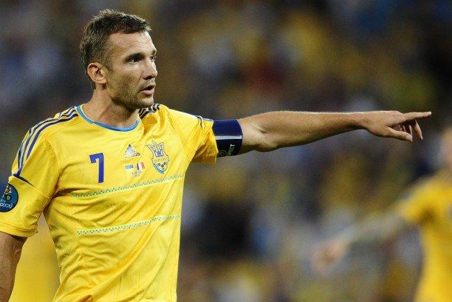 Andrej Schewtschenko ist der neue Co-Trainer des urkainischen Nationalteams.