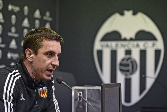 Valencia-Coach Gary Neville braucht dringend positive Ergebnisse.