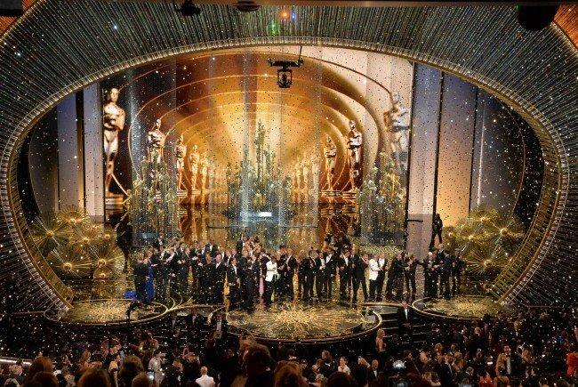 Die schönsten Bilder von der Oscar-Verleihung 2016.