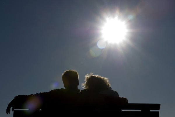 Über einen frühlingshaft warmen Montag durfte man sich im südlichen Wiener Becken freuen