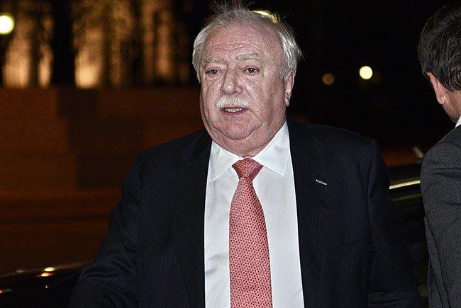 Wiens Bürgermeister Michael Häupl kommt zu einer Unterredung mit BP Heinz Fischer anläßlich der aktuellen Flüchtlingspolitk am Mittwoch