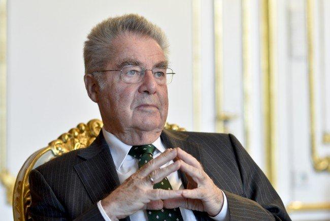 Heinz Fischer sprach beim Suppenfastenessen in der Hofburg über Willkommenskultur