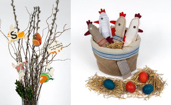 Osterschmuck und Dekosachen gibt es beim VinziRast-Ostermarkt zu erstehen