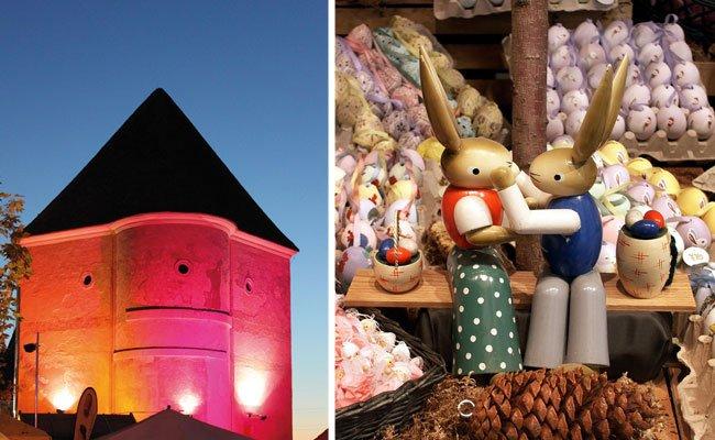 Vom 17. bis 20. März findet im Schloss Neugebäude der traditionelle Ostermarkt statt