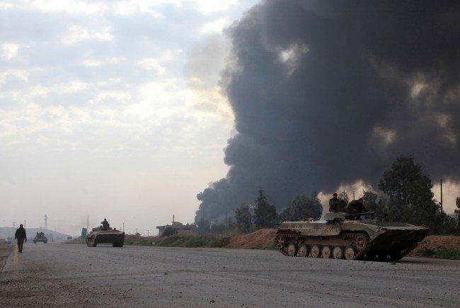 Die syrische Armee räumt ein weiteres Zwischenziel auf dem Weg nach Aleppo.