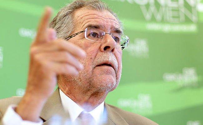 Grüne unterstützen Van der Bellen mit 1,2 Mio. Euro in bar