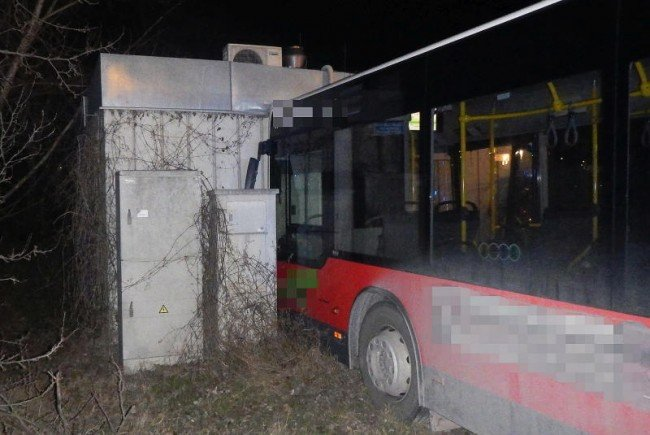 Bus-Unfall in Simmering.