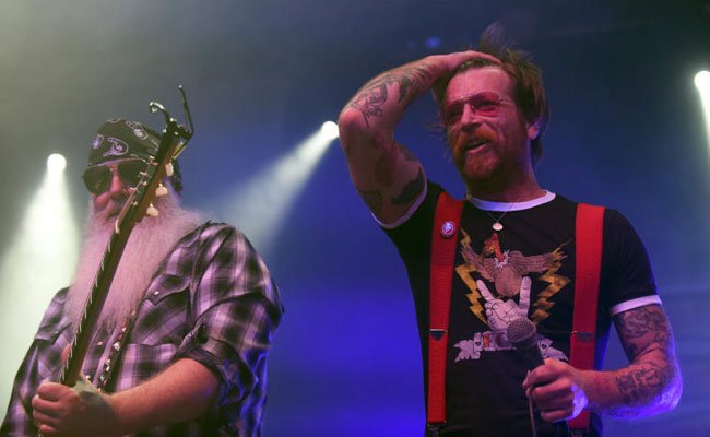 Die Eagles Of Death Metal zelebrierten die Kraft des Rock'n'Roll in Wien.