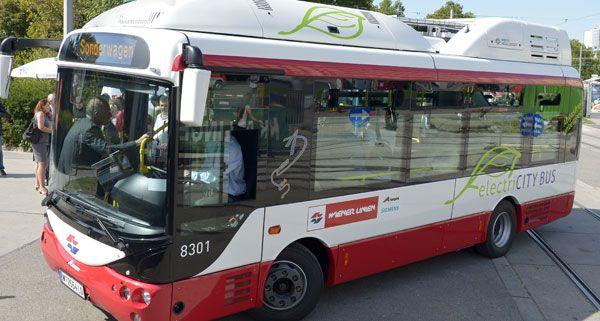 Wegen hoher Kosten kritisiert: Elektrobusse der Wiener Linien
