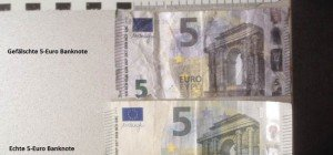 Zahlreiche Diebesgüter und gefälschter 5 Euro Schein bei Mann gefunden