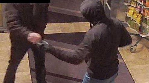 Supermarkt-Überfall in NÖ: Fahndung nach Verdächtigen-Duo