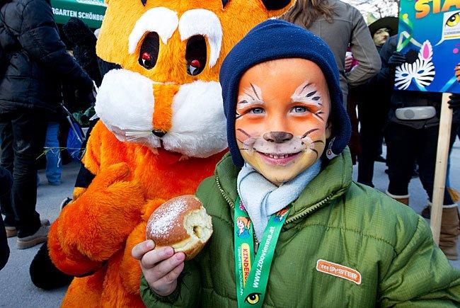 JEde Menge Spaß für Kinder bietet der Fasching in Schönbrunn