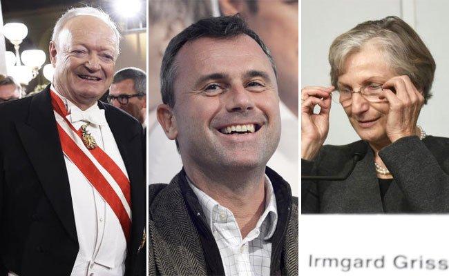 Die News rund um die Hofburg-Kandidaten.