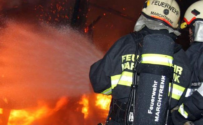 Großbrand in Wien Favoriten