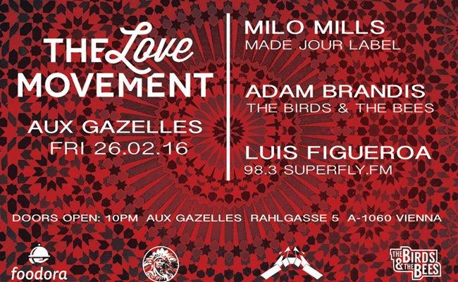 Eine fulminante Eröffnungsfeier für The Love Movement