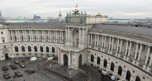 Die Hofburg, das große Ziel der Präsidentschaftskandidaten.