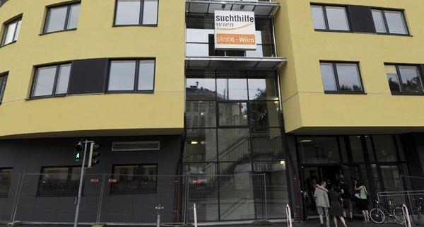 Suchthilfe-Zentrum in Wien-Alsergrund