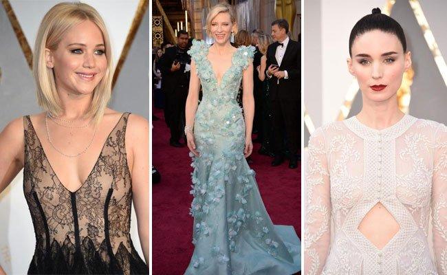 Die große Modenschau bei den Oscars.