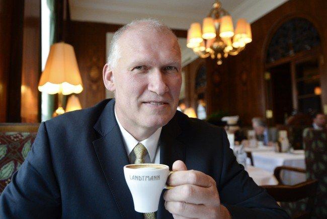 Berndt Querfeld plant ein neues Kaffeemuseum in Wien.