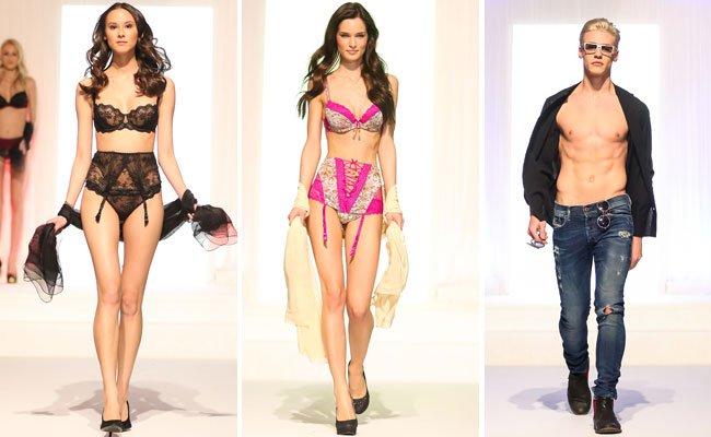 Die Models präsentierten neue Looks für 2017.