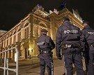 Strikte Sicherheitkontrollen rund um die Wiener Staatsoper