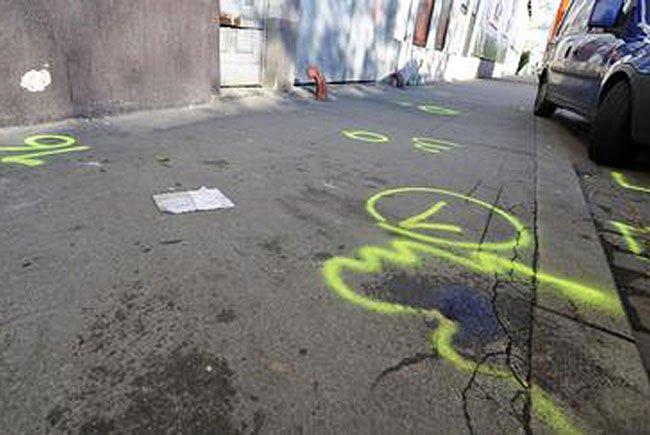 2009 am Tatort in Wien-Brigittenau: Hier fielen die Schüsse