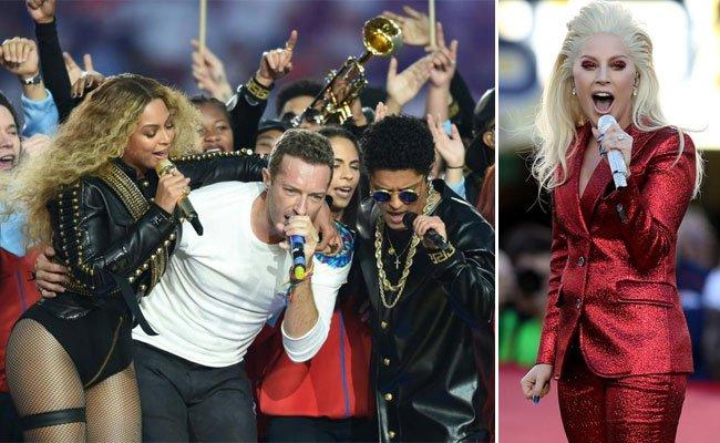 Sichtlich viel Spaß hatten auch die Pop-Superstars beim Super Bowl.