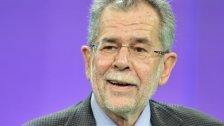 Van der Bellen führt in Umfragen zur BP-Wahl