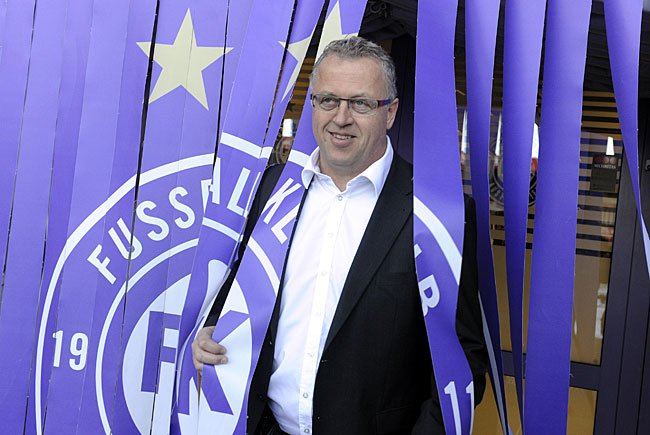 FK Austria Wien Sportdirektor Franz Wohlfahrt zog in einem Interview Zwischenbilanz