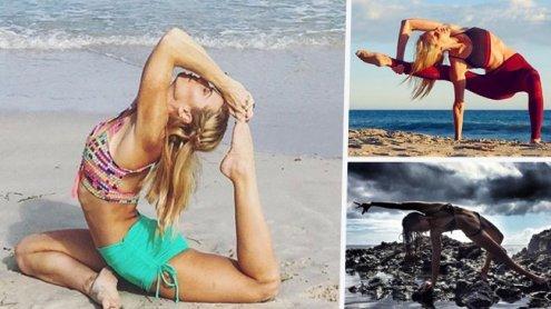 Strike a pose: Die schönsten Fotos der Yoga-Göttinnen im Netz
