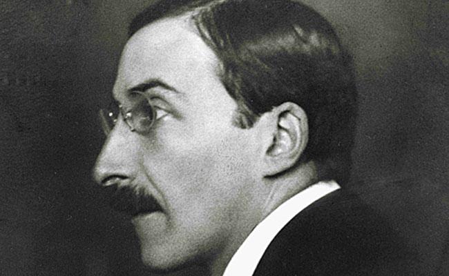 Privater Briefaustausch von Stefan Zweig.