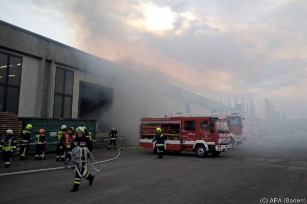 Die Feuerwehr war mit 130 Mann im Einsatz