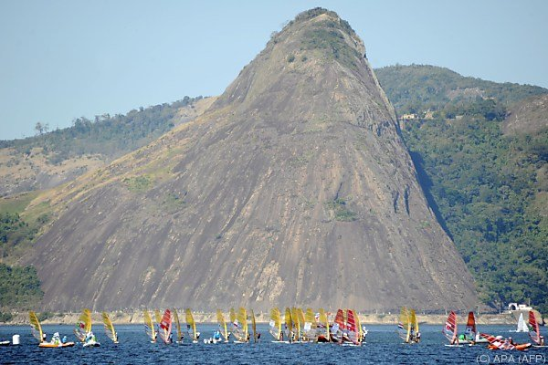 Im olympischen Segelrevier von Rio kann einem das Grausen kommen