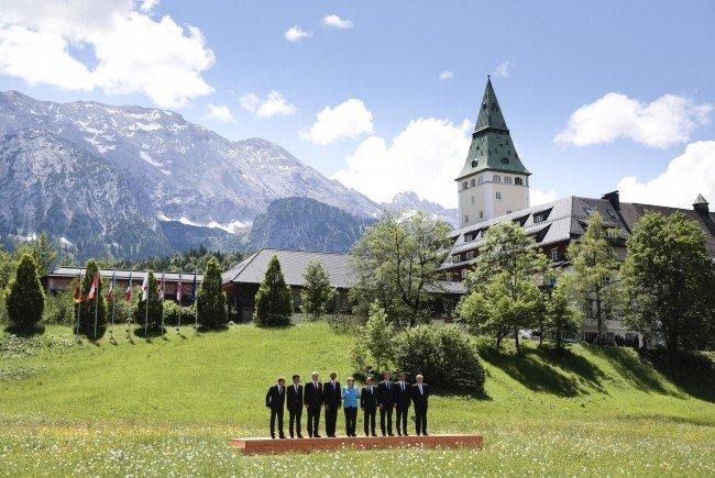 Der G7-Gipfel fand im Juni 2015 in Bayern statt.