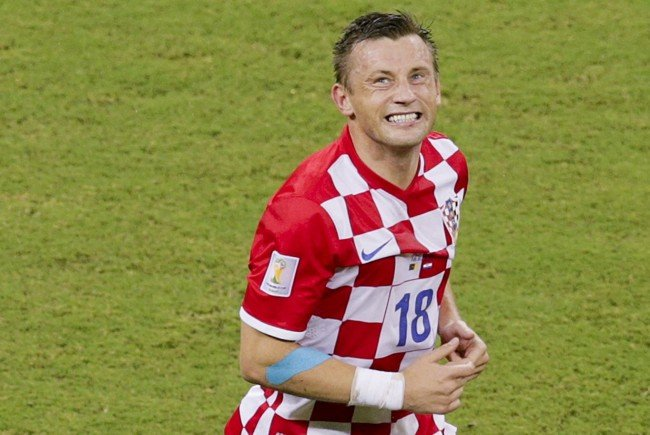 Kroatiens Team-Stürmer Ivica Olic gab sein Karriereende bekannt.