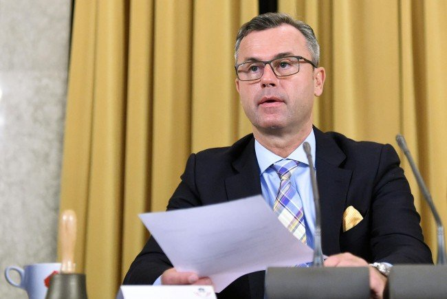 FPÖ-Kandidat Norbert Hofer.