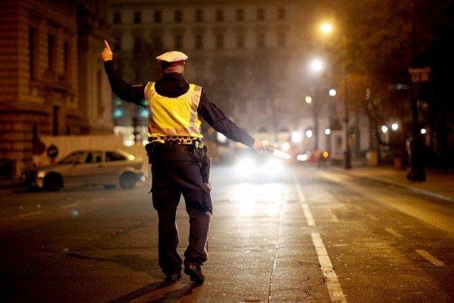 Polizei führe in Floridsdorf ein Planquartrat durch