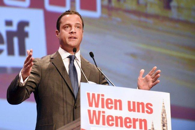 FPÖ-Vizebürgermeister Johann Gudenus.