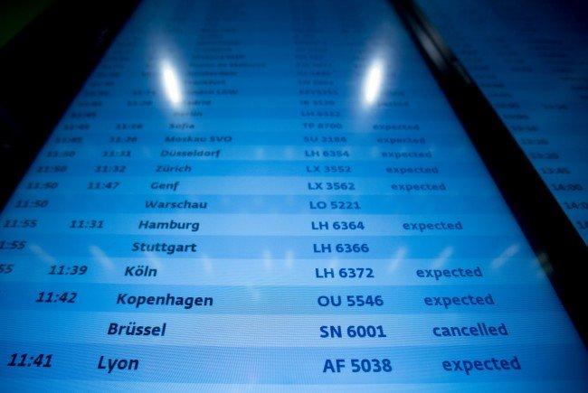Brüssel-Terror - AUA-Brüssel-Flüge fallen bis inklusive Montag aus