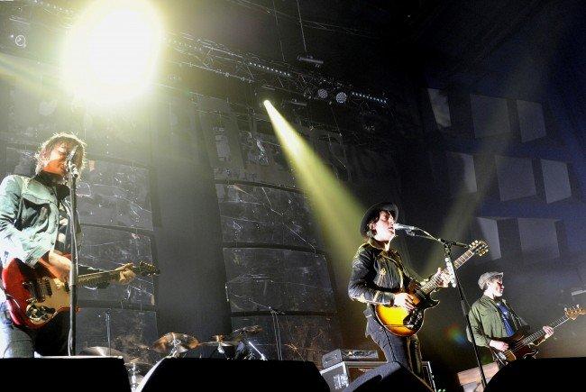 The Libertines feierten Wien-Premiere in der Stadthalle.