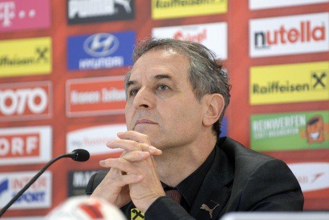 Marcel Koller bleibt dem ÖFB zumindest für ein weiteres Jahr erhalten.
