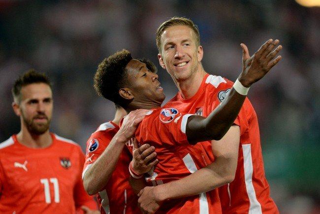 David Alaba, Marc Janko und Co. sind wieder für Österreich im Einsatz.