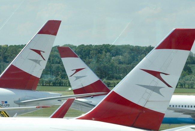 Die AUA freut sich über Zuwachs bei den Passagierzahlen.